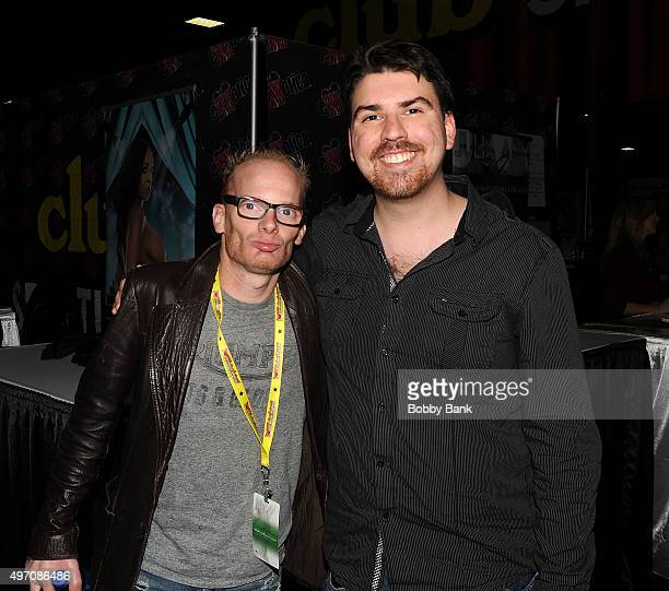 Medicated Pete McHeffey of the Howard Stern Show attends Exxotica Day 1 at New Jersey Convention and Exposition Center on November 13 2015 in Edison...