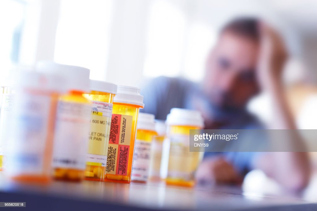 Medication Overload : Stock Photo