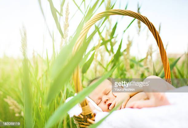 Medicinal sunbaths for baby