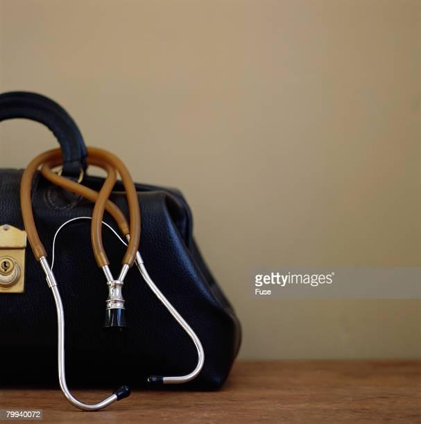 Medicine Bag and Stethoscope