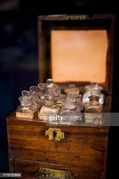 A medicine chest taken by Florence Nightingale to the Crimean War features in the new exhibition 'Nightingale in 200 Objects People and Places' at...