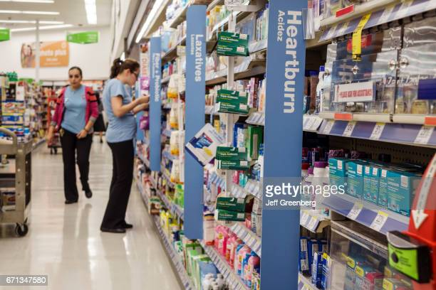Medicine for sale in Walgreens pharmacy