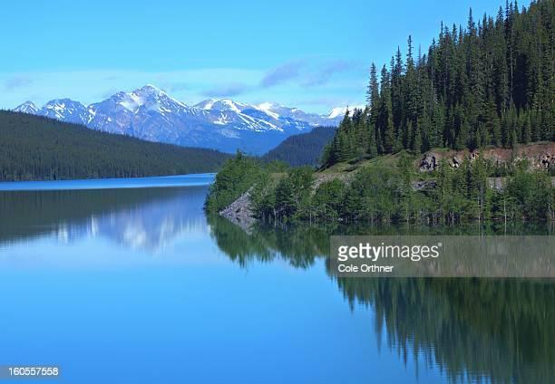 Medicine Lake. Jasper, Alberta