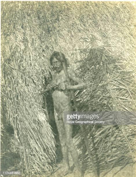 Medicine man Bolivia 1907 Artist Percy Harrison Fawcett