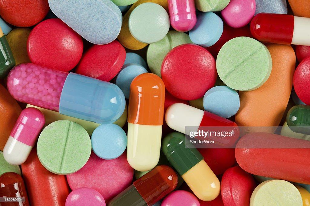 Medicine Pills & Capsules : Stock Photo