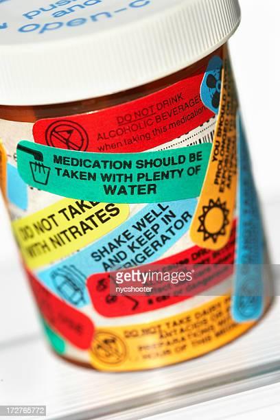 medicine warning labels