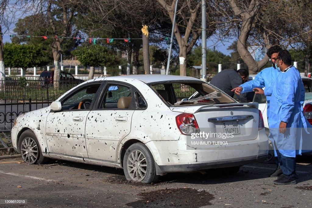 LIBYA-CONFLICT-HEALTH-VIRUS : News Photo