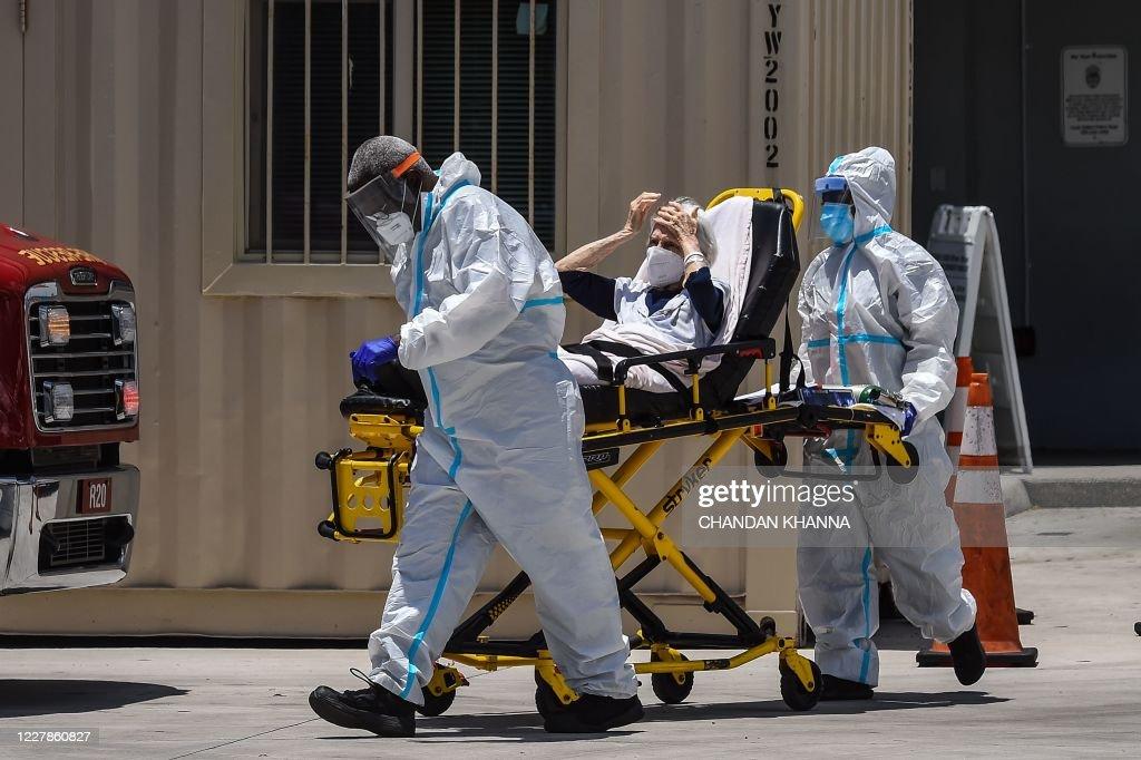 US-HEALTH-VIRUS : Fotografia de notícias