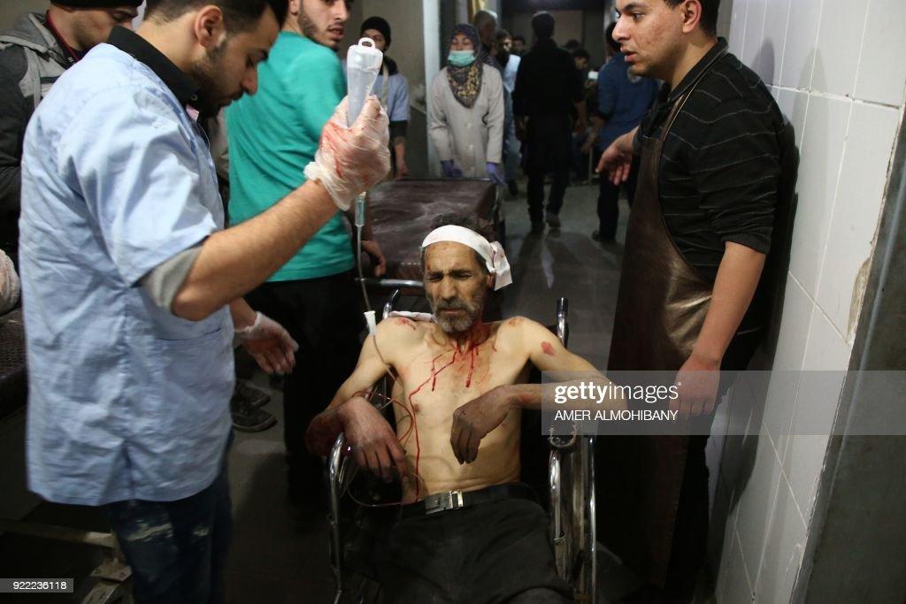 SYRIA-CONFLICT : News Photo