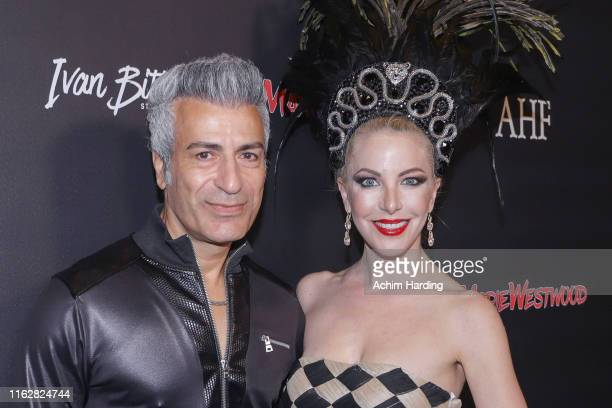 Mediem and Dustin Quick at Waldorf Astoria Beverly Hills on July 17 2019 in Beverly Hills California