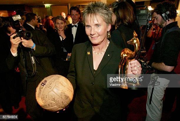 Medienpreis/Bambi Verleihung, Hamburg; Trainerin Tina THEUNE-MEYER