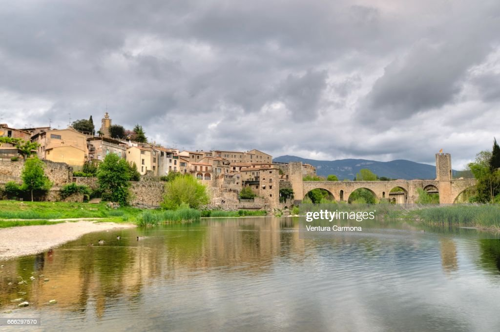 Medieval Besalú - Catalonia, Spain : Stock Photo