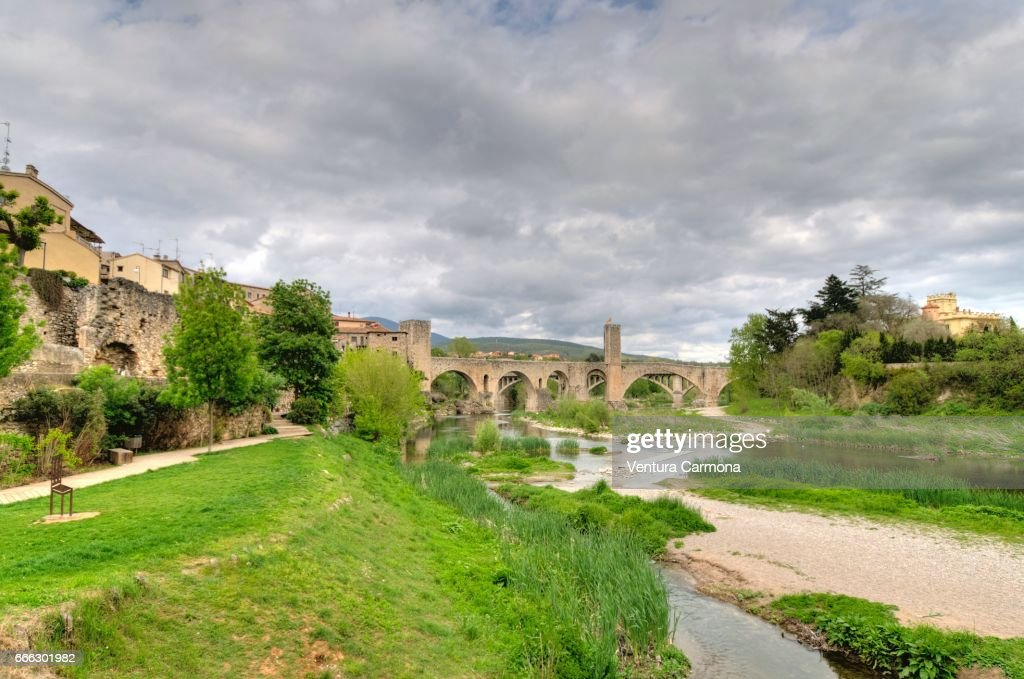 Medieval Besalú - Catalonia, Spain : Stock Photo