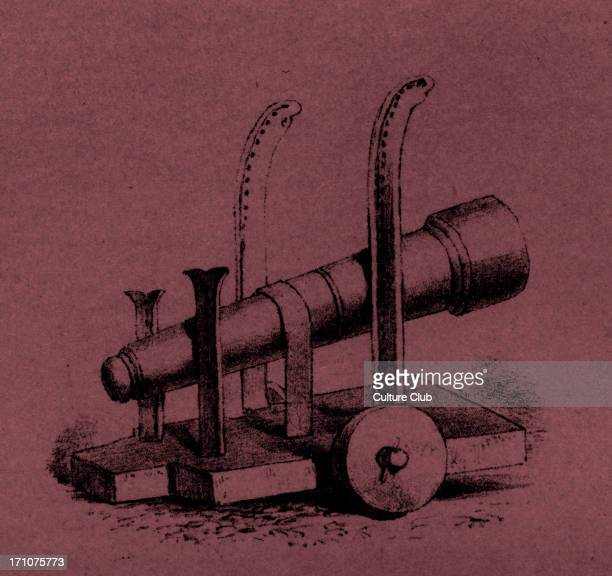 Medieval cannon of 1377