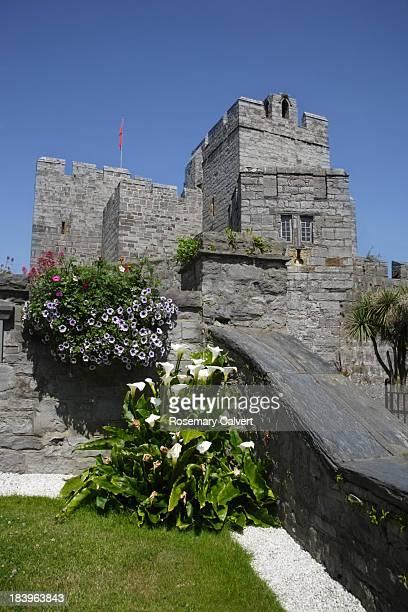 Medieval castle, Castle Rushen, Isle of Man.