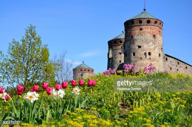 Medieval castle in Savonlinna