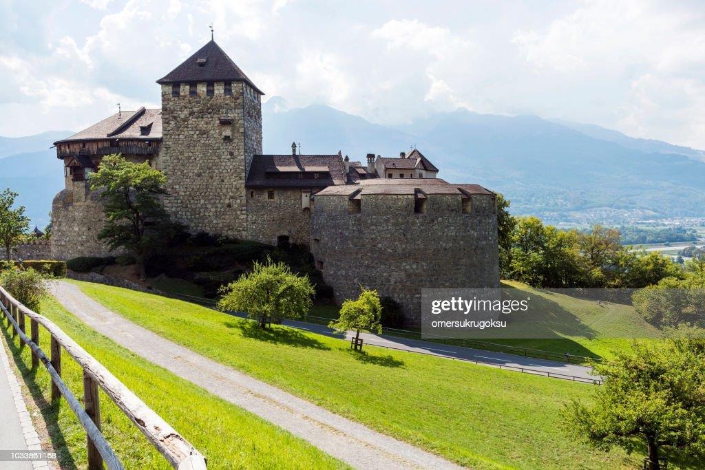 Medieval Castle in Vaduz, Liechtenstein : Stock Photo