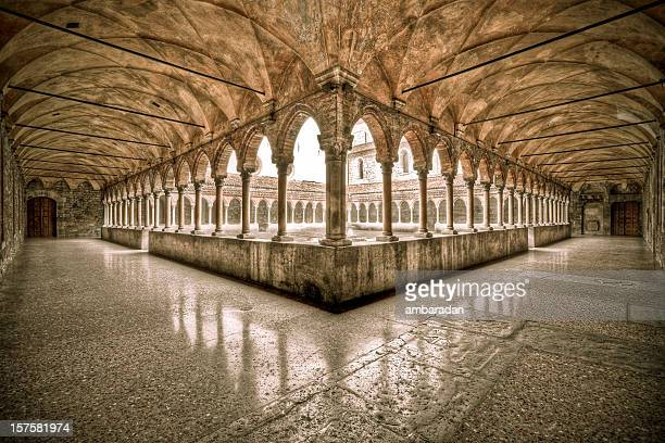 medieval church - brescia stock pictures, royalty-free photos & images