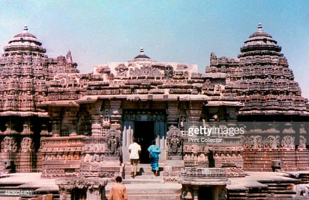 Medieval Hindu Temple Khajuraho India The Khajuraho temples were built over a span of a hundred years from 950 to 1050