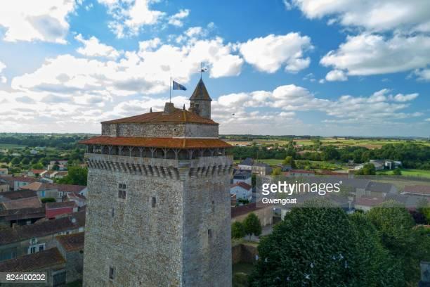 Medieval keep of Bazoges-en-Pareds