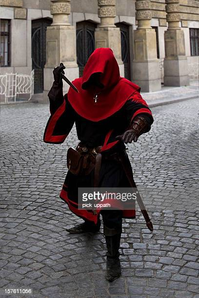 medieval  knight - excalibur stock photos and pictures