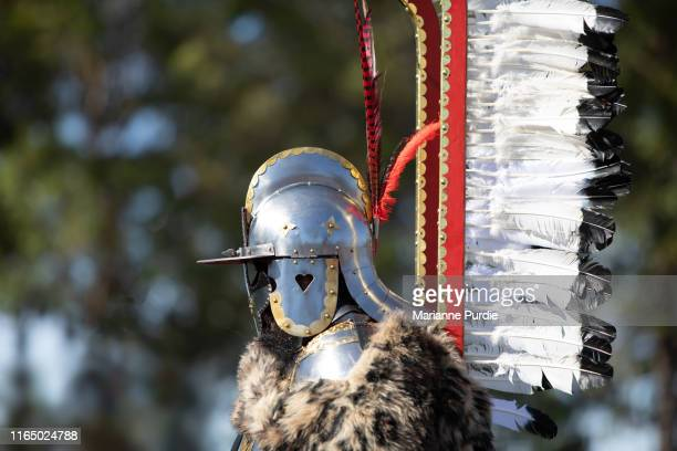 medieval lifestyle - historical reenactment stock pictures, royalty-free photos & images