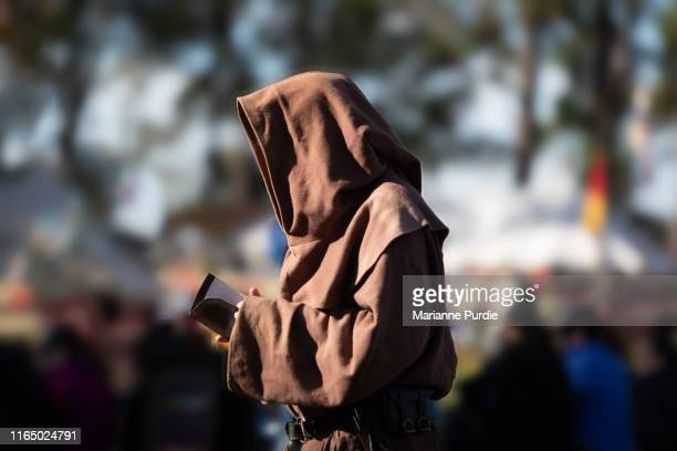 medieval lifestyle - monk stock pictures, royalty-free photos & images