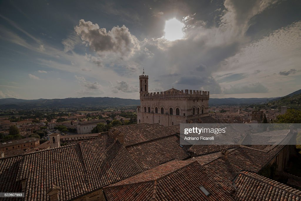 Medieval rooftops : Foto stock