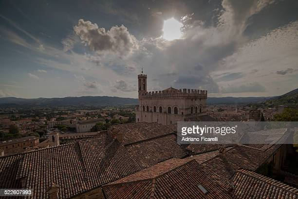 medieval rooftops - adriano ficarelli stock pictures, royalty-free photos & images