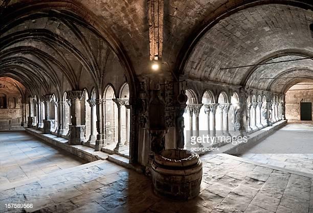 Medieval Stone Corridor