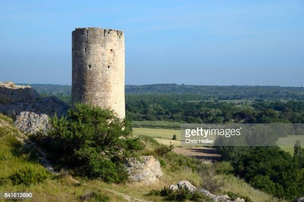 Medieval Tower Le Paradou Les Alpilles Provence
