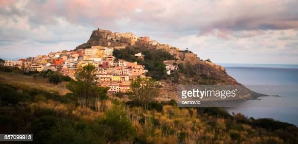 中世の町 Castelsardo (イタリア、サルデーニャ島)