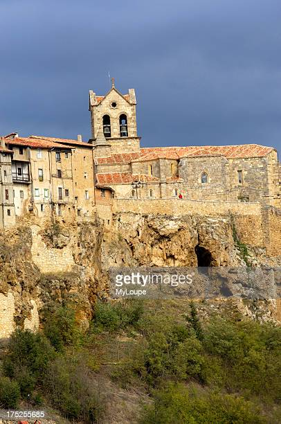 Medieval town of Frias Burgos CastillaLeon Spain