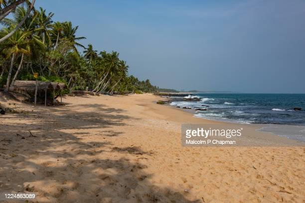 medilla beach, a pristine idyllic beach, tangalle, hambantota, sri lanka - sri lanka stock pictures, royalty-free photos & images