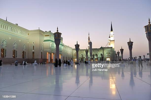medina mosque - al madinah stock photos and pictures