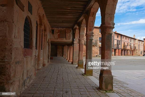 Medinaceli Main Square Soria province Castilla Leon Spain
