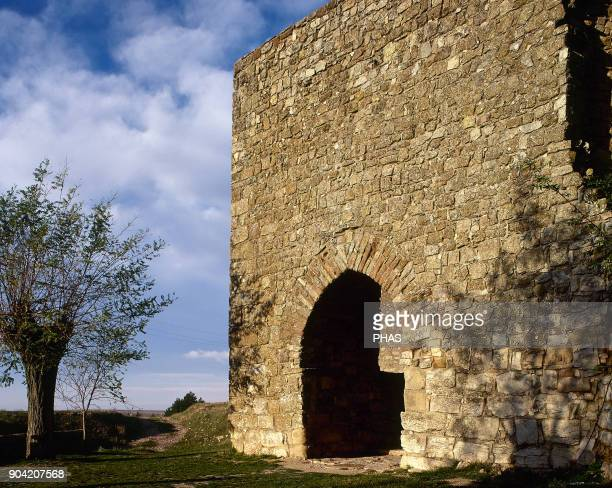 Medinaceli province of Soria Castile and Leon Spain Puerta Arabe Is the only gate next to the Roman Arch that remains from the walled enclosure...