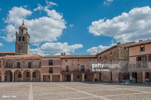 Medinaceli town square
