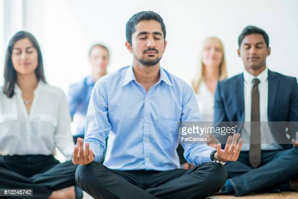 Meditating at Work