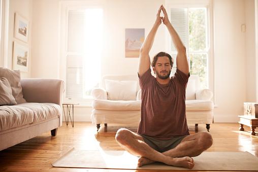 Meditating has made him a much calmer person 957709388