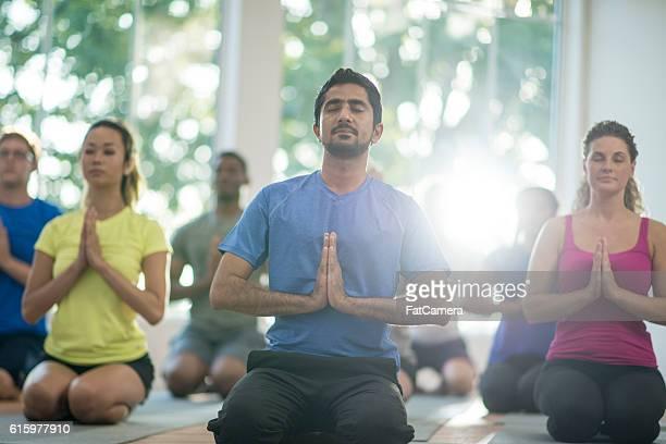 Méditation dans un cadre paisible