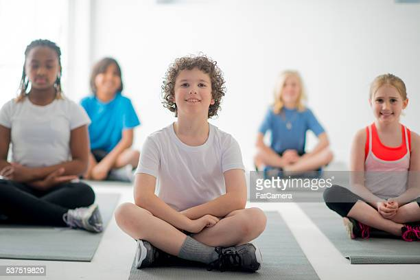 Meditating Together in Class