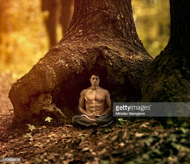 Meditation in the nature