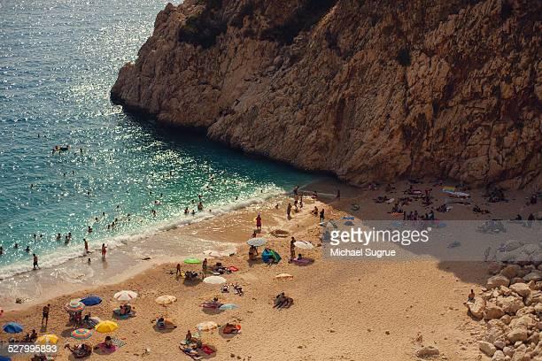 Mediterranean Beach, Kas, Turkey.