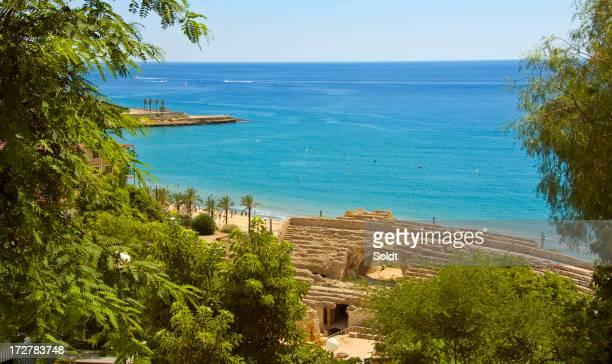 Mediterranean beach scene II  |  Tarragona, Costa Dorada