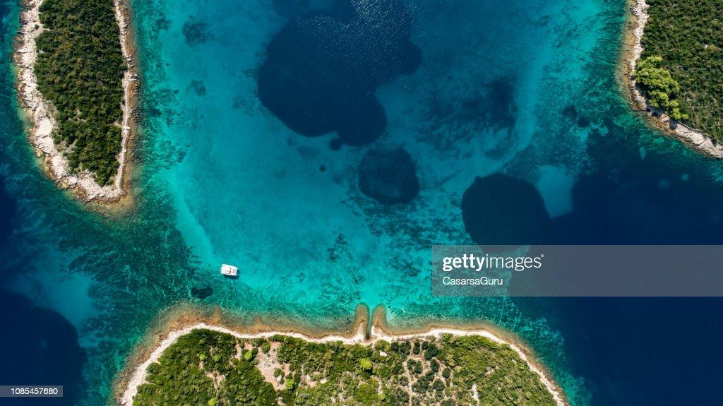 Mediterranean coastline : Stock Photo