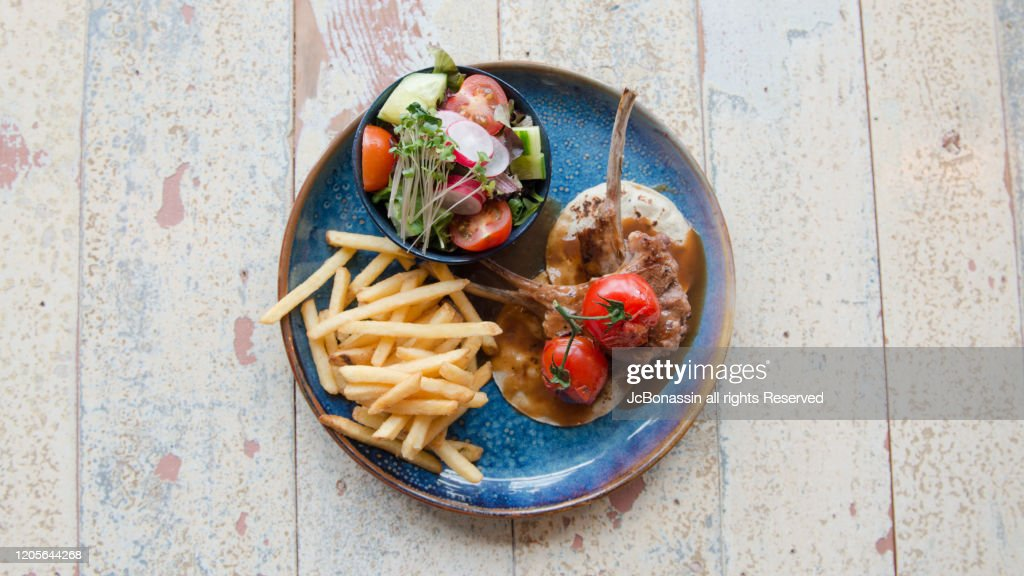Mediterranean dishes : Stock Photo