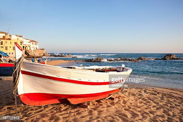 Mediterráneo la pesca en bote