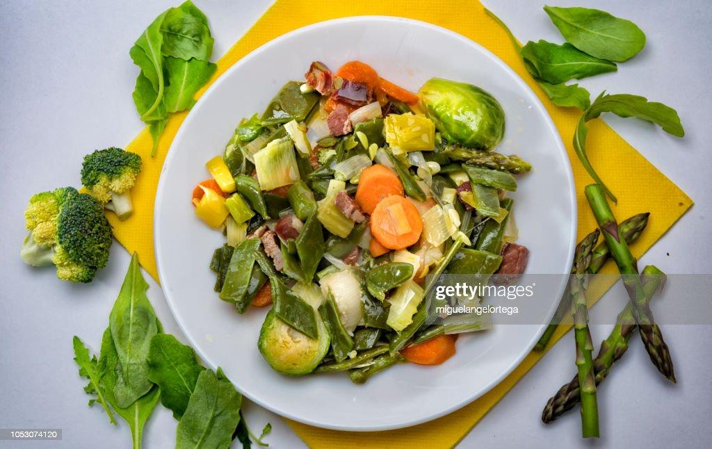Mediterranean food - vegetable stew : Stock Photo