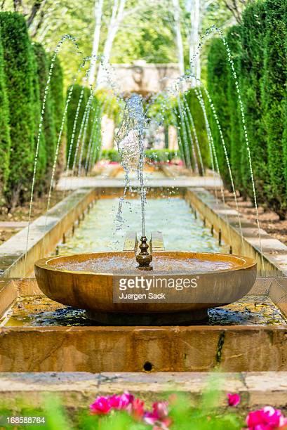 Mediterrane Brunnen in Palma